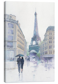 Canvas print  Walking in the Rain - Avery Tillmon
