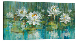 Canvas print  Water Lily Pond - Danhui Nai
