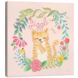 Canvas print  Garden Friends III Giggle - Mary Urban
