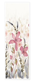 Premium poster Watercolor Garden Light II