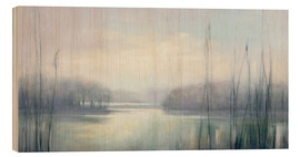 Wood print  Misty Memories - Julia Purinton