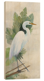 Wood  Standing Egret I - Avery Tillmon