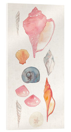 Acrylic glass  Sea Gems I - Wild Apple