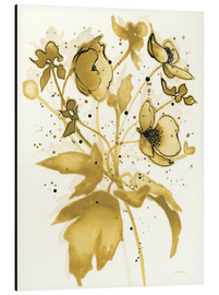 Aluminium print  Celebration in gold II - Shirley Novak