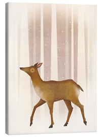 Canvas  Snowy Doe - Ryan Fowler