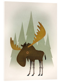 Acrylic glass  Forest Moose - Ryan Fowler