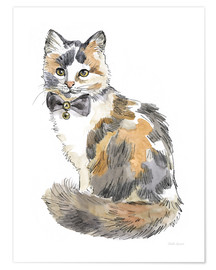 Premium poster Fancy Cats II