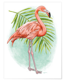 Premium poster  Tropical Flair II - Mary Urban