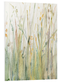 Foam board print  Spring Grasses I - Avery Tillmon