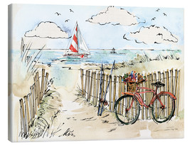 Canvas print  Coastal Catch VI - Anne Tavoletti