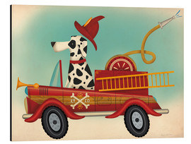 Aluminium print  K9 fire department - Ryan Fowler