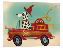 Foam board print  K9 fire department - Ryan Fowler