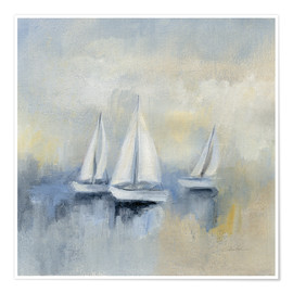 Premium poster Morning Sail II