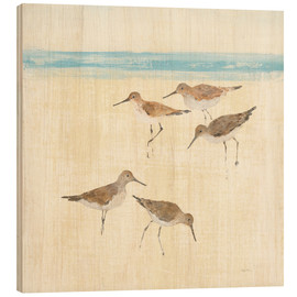 Wood  Sandpipers Square II  - Avery Tillmon