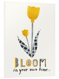 Foam board print  Bloom IV - Melissa Averinos
