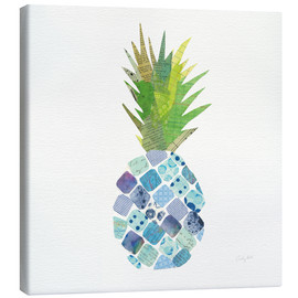 Canvas print  Tropical Pineapple II - Courtney Prahl
