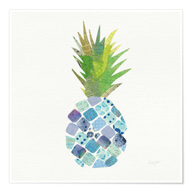 Poster Tropical Pineapple II