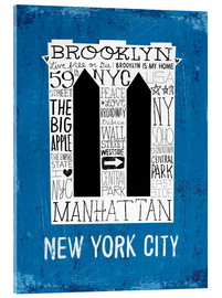 Acrylic print  New York City V - Michael Mullan