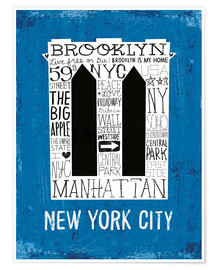 Premium poster New York City V
