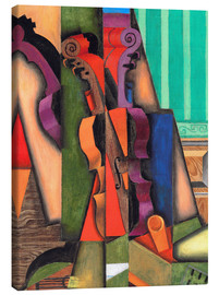 Canvas print  Violin and guitar - Juan Gris