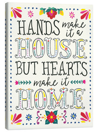 Canvas  Our home - Laura Marshall