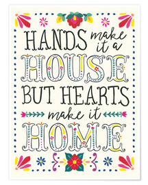 Premium poster  Our home - Laura Marshall