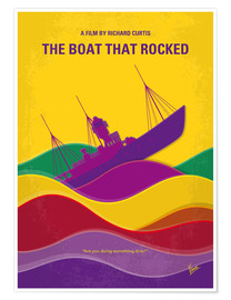 Premium poster No961 My The boat that rocked minimal movie poster