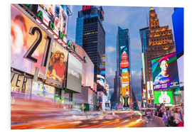 Forex  Passing vehicles in front of the billboards of Times Square in New York - Neale Clarke