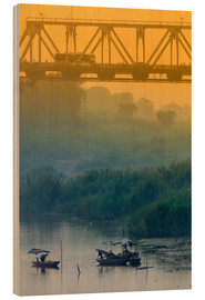 Alex Robinson - Iron bridge over the Red River in Hanoi