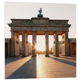 Foam board print  Brandenburg Gate at sunrise - Markus Lange
