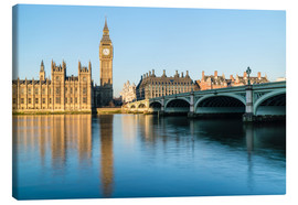 Canvas print  Big Ben, and the Palace of Westminster - Fraser Hall