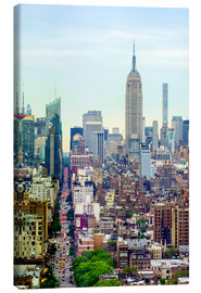 Canvas print  The Empire State Building and the Manhattan skyline - Fraser Hall