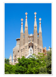 Neale Clarke - La Sagrada Familia church in Barcelona