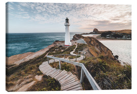 Canvas print  Lighthouse of Wellington, New Zealand - Nicky Price