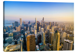 Canvas  Skyline of Chicago, Illinois - Fraser Hall