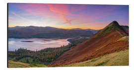 Aluminium print  Cat bells fell at sunrise - Alan Copson