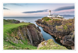 Premium poster Fanad Head Lighthouse in Ireland