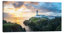 Canvas print  Fanad Head Lighthouse in Ireland - Francesco Vaninetti