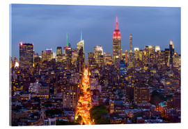 Acrylic print  Empire State Building and city skyline - Fraser Hall