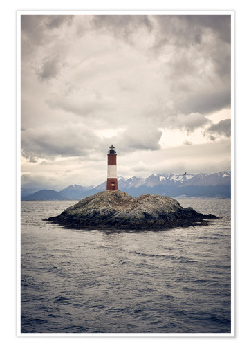 Poster Les Eclaireurs lighthouse