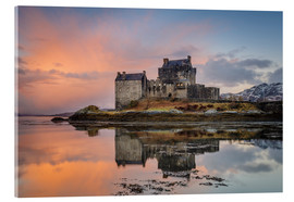 Acrylic print  Dawn at Eilean Donan Castle - Andrew Sproule