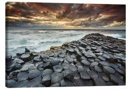 Canvas print  An evening view of the Giant's Causeway - Nigel Hicks