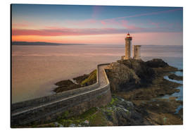 Aluminium print  Petit Minou light house at sunrise - Francesco Vaninetti