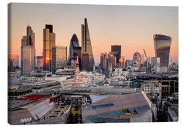 Canvas print  London skyline from St Pauls Cathedral - Charles Bowman
