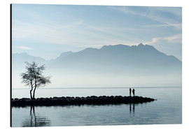 Aluminium print  Lake Annecy, Savoie, France - Graham Lawrence