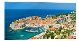 Acrylic print  Old Port and Dubrovnik Old Town - Neale Clarke