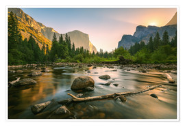 Premium poster Valley View - Yosemite National Park