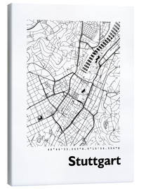 44spaces - City map of Stuttgart