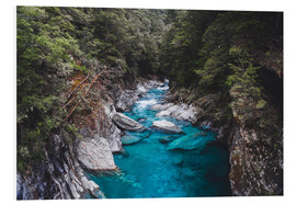 Foam board print  Blue pools, Mount Aspiring National Park - Nicky Price