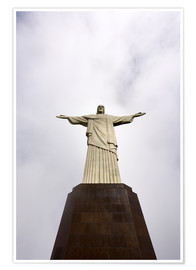 Premium poster Iconic statue of Christ the Redeemer
